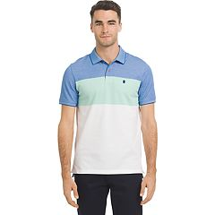 Men's IZOD SportFlex Classic-Fit Rugby-Striped Stretch Performance Polo