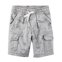 Toddler Boy Carter's Treasure Map Cargo Shorts