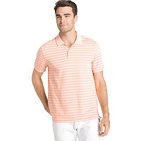 Men's IZOD SportFlex Classic-Fit Feeder-Striped Stretch Performance Polo