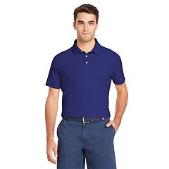 Men's IZOD Interlock Solid Polo