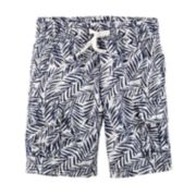 Toddler Boy Carter's Palm Leaf Cargo Shorts