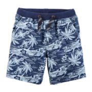 Toddler Boy Carter's Palm Tree Cargo Shorts