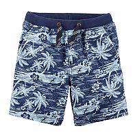 Toddler Boy Carter's Palm Tree Cargo Shorts