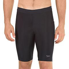 Men's Speedo Solid Jammer Long Swim Shorts