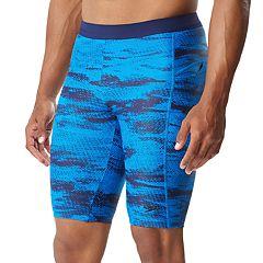 Men's Speedo Halftone Tide Jammer Fitness Long Swim Shorts