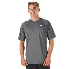 Men's Speedo Heathered Easy Swim Tee