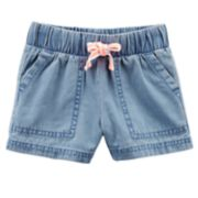 Toddler Girl Carter's Chambray Shorts