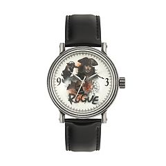 Disney's Pirates Of The Caribbean Captain Jack Sparrow Men's Leather Watch