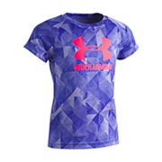 Girls 4-6x Under Armour Trifold Logo Tee