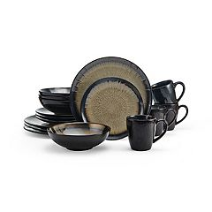 Gourmet Basics Reed Cream 16-pc. Dinnerware Set