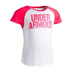 Girls 4-6x Under Armour Raglan Tee