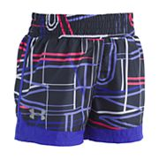 Girls 4-6x Under Armour Stretch Running Shorts