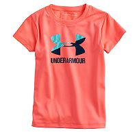 Girls 4-6x Under Armour Wordmark Logo Tee