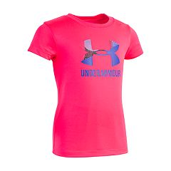 Girls 4-6x Under Armour Alpha Split Logo Tee