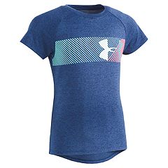 Girls 4-6x Under Armour Split Logo Tee