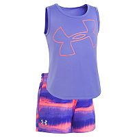 Girls 4-6x Under Armour Big Logo Horizon Top & Shorts Set