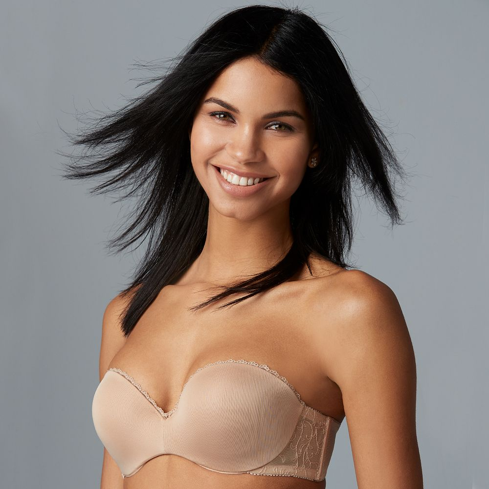 Lily of France® Bras: Gel Touch Strapless Push-Up Bra 2111121