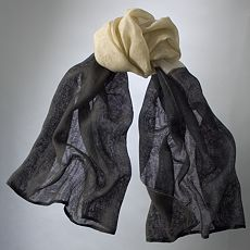 Simply Vera Vera Wang Colorblock Scarf :  downtown kohlscom designer cheap