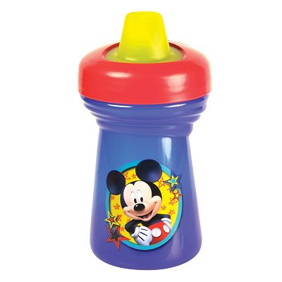 Disney Mickey Mouse Clubhouse Travel Lock Sippy Cup by The First Years