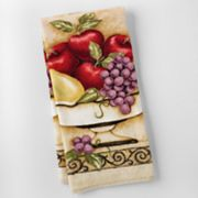Kitchen Elements Antique Fruit Reactive Kitchen Towel