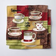 Croft and Barrow Java Joe Dishcloth Set