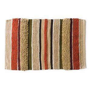 Madison Striped Bath Rug