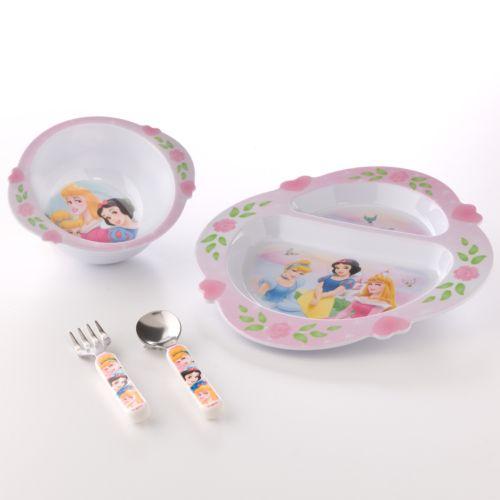 Disney Princess 4-pc. Feeding Set by The First Years