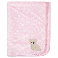 Just Born Pink Plush Blanket