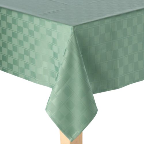 Food Network™ Stain-Resistant Microfiber Check Tablecloth - 60 x 84 Oblong