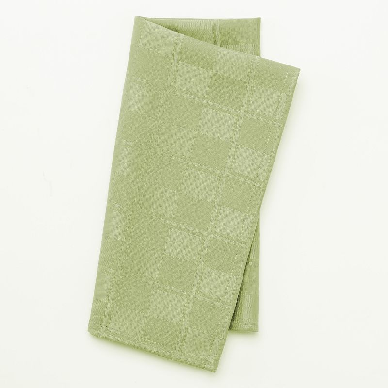 Food Network™ Stain-Resistant Microfiber Check Napkin