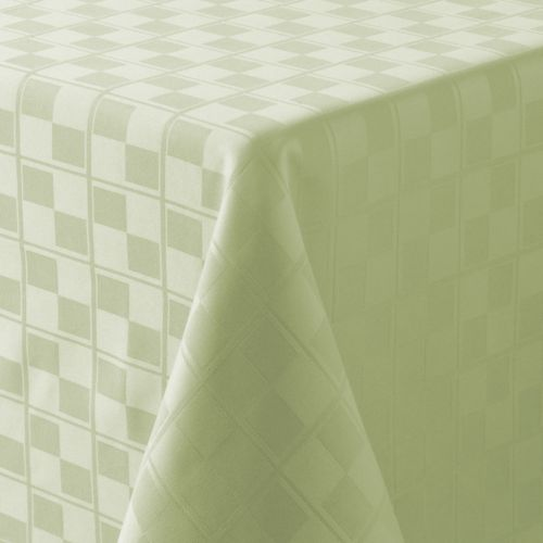 Food Network™ Stain-Resistant Microfiber Check Tablecloth - 60 x 84 Oval