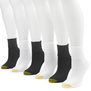 Women's GOLDTOE® 6-pk. Turn-Cuff Socks