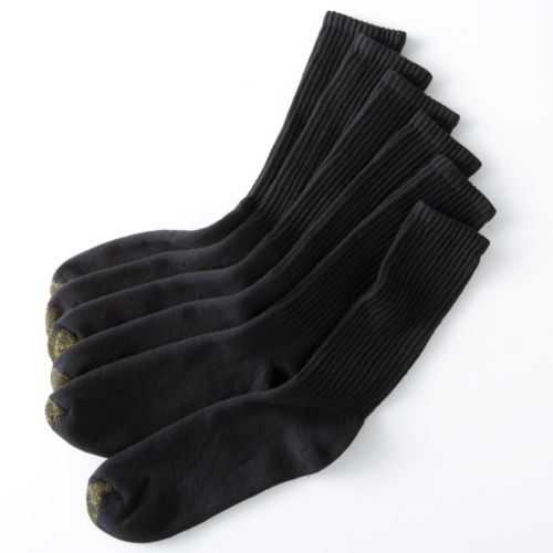Men's Goldtoe 6 Pk. Athletic Crew Socks by Kohl's