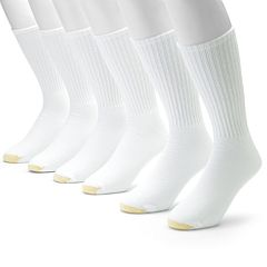 Men's GOLDTOE 6 pkAthletic Crew Socks