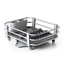 OXO Good Grips Égouttoir à vaisselle avec cadre en aluminium