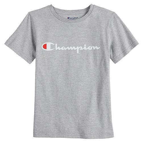 Boys 8-20 Champion Logo Tee