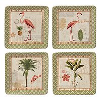 Certified International Floridian 4 pc Salad Plate Set