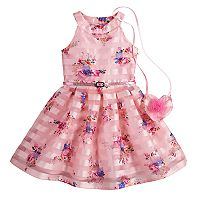 Girls 4-6x Knitworks Halter Skater Dress & Purse Set