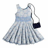 Girls 4-6x Knitworks Daisy Dress & Purse Set