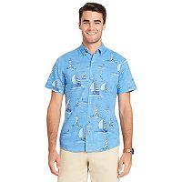 Men's IZOD Classic-Fit Tropical Button-Down Shirt