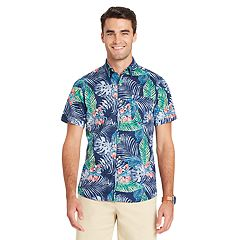 Men's IZOD Classic-Fit Tropical Button-Down Shirt