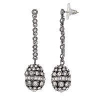 Simply Vera Vera Wang Fireball Drop Nickel Free Linear Earrings