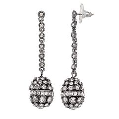 Simply Vera Vera Wang Fireball Drop Nickel Free Linear Earrings