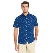 Men's IZOD  CoolFX Classic-Fit Boat Moisture-Wicking Button-Down Shirt