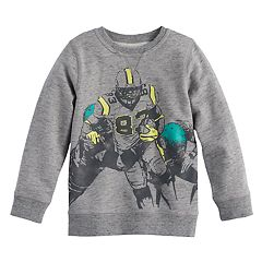 Boys 4-7x SONOMA Goods for Life™ Heathered Pullover Sweatshirt