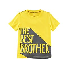Baby Boy Carter's 'The Best Brother' Neon Tee