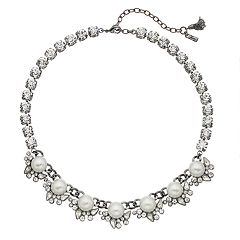 Simply Vera Vera Wang Cup Chain Statement Necklace