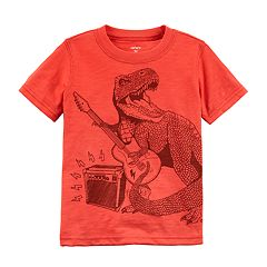 Baby Boy Carter's T-Rex Rock Star Graphic Tee