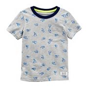 Baby Boy Carter's Sneakers Pocket Ringer Tee