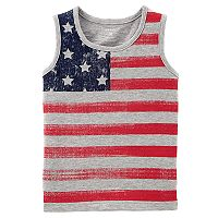Baby Boy Carter's American Flag Tank Top